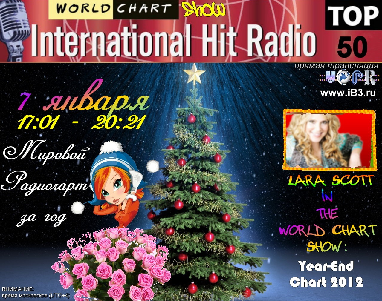 World Chart Show vs Lara Scott: Year-End Chart 2012